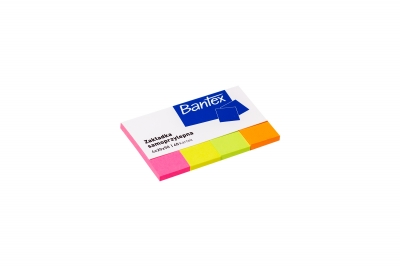 Zakładki samoprzylepne, 20x50 40k - 4 kolory (400086402)
