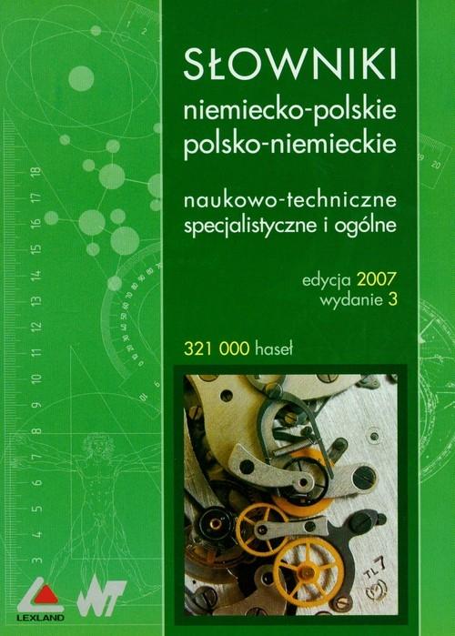 Słowniki niemiecko-polskie polsko-niemieckie, naukowo-techniczne specjalistyczne i ogólne