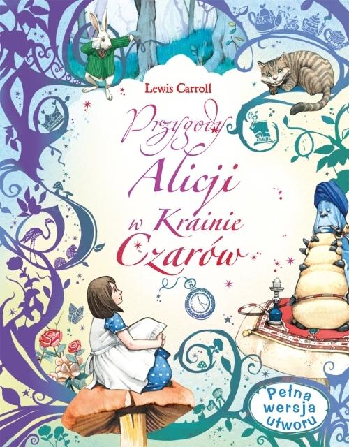 Przygody Alicji w Krainie Czarów Lewis Carroll, Fran Parreno (ilustr.)