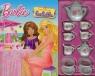 Barbie Popołudniowa herbatka Książka + serwis do herbaty