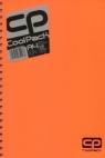 Brulion A4 CoolPack 200 kartek pomarańczowy neon