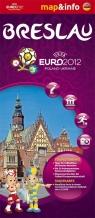 Breslau Wrocław Euro 2012 mapa i miniprzewodnik