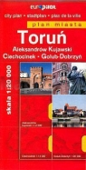Toruń plan miasta Aleksandrów Kujawski, Ciechocinek, Golub-Dobrzyń
