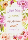 Kartka składana - Jeżeli Bóg z nami SZK 032
