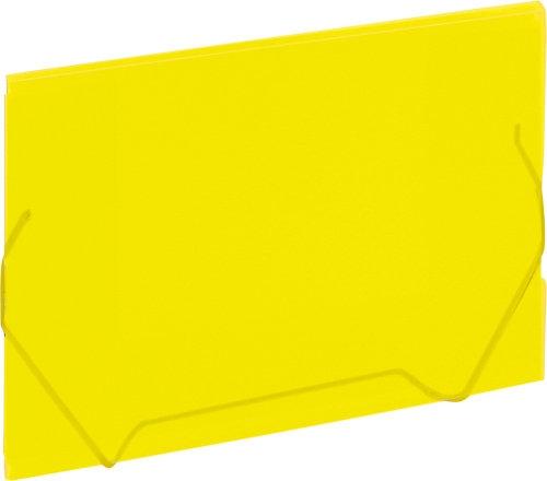 Koperta A4 żółta na gumkę Grand