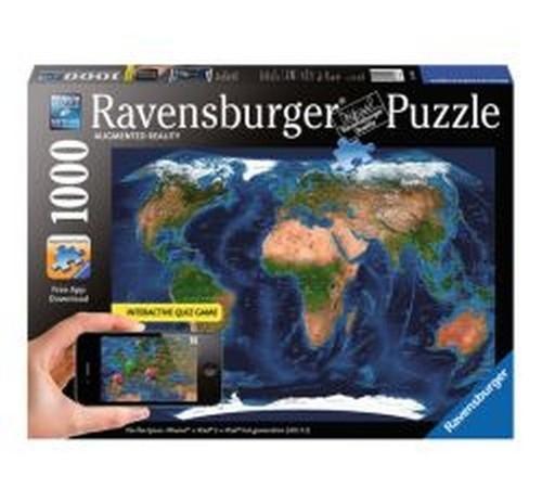 Puzzle Satelita Świat 1000 iPad/iPhone (193080)