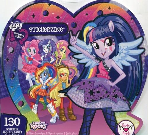 My Little Pony Equestria Girls Album z naklejkami (76708)