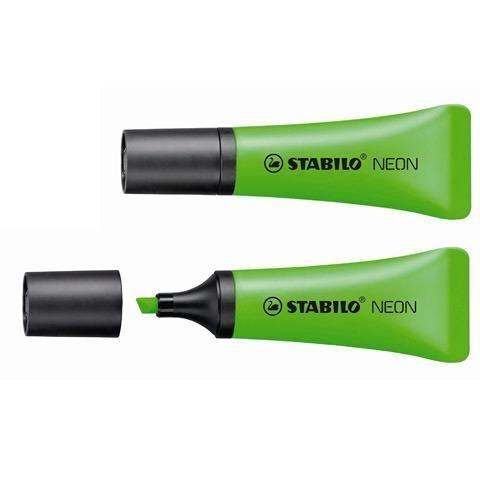 Zakreślacz Stabilo Neon, 10 szt. - zielony