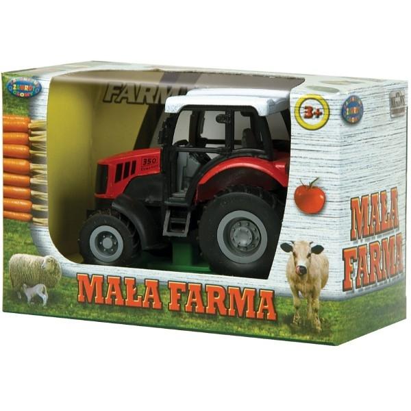 DROMADER Zest. Mała Farma Traktor Metal. (00408)