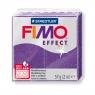 Masa termoutwardzalna Fimo effect fioletowy brokatowy (8020-602)