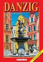 Gdańsk i okolice mini - wersja niemiecka - Rafał Jabłoński - książka