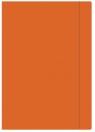 Teczka z gumką Interdruk A4+ jednokolorowa pomarańczowa