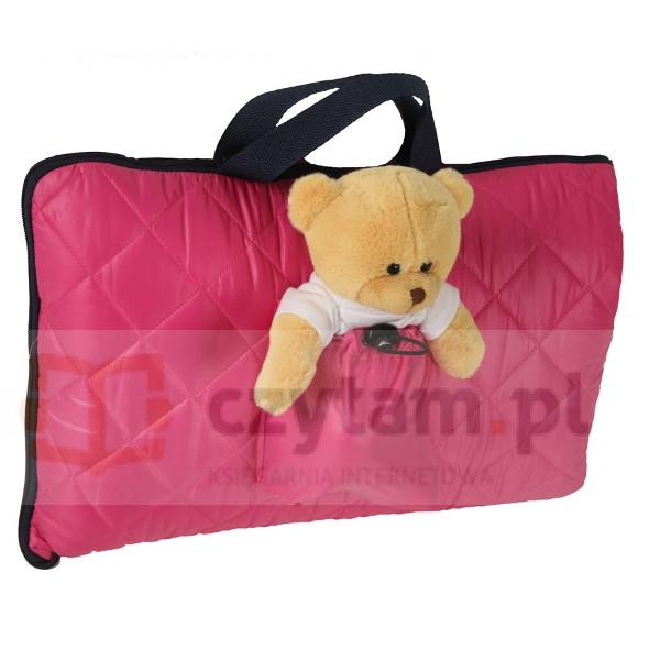 TULOKO Śpiwór podróżnika różowy (3082)
