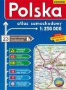 Polska - 1:250 000 atlas samochodowy