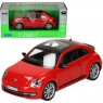 WELLY Volkswagen New Beetle, czerwony (WE24032)