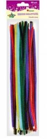 Druciki kreatywne mix kolor 30cm. 40 szt.