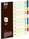 Przekładki indeksujące A4 Grand GR-P010 10 sztuk