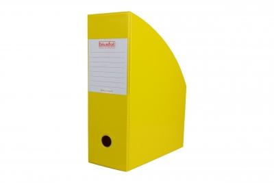 Pojemnik na czasopisma 10cm - żółty SE-36-08 BIURFOL