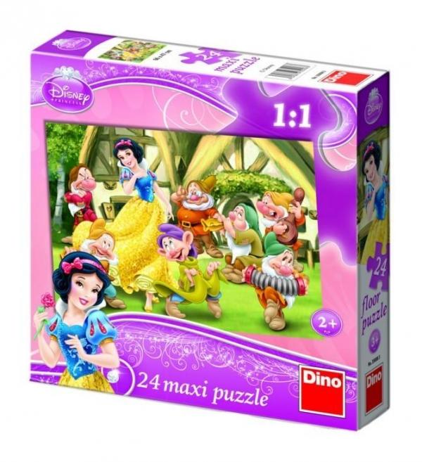 Puzzle Dino 24 maxi Snow White (350083)