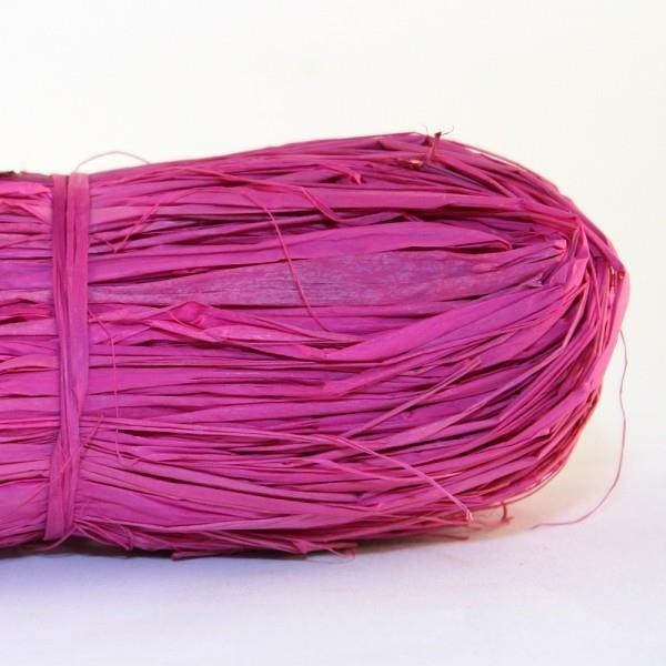 Rafia naturalna 50g różowa MAILDOR