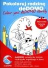 Pokoloruj rodzinę deDOMO