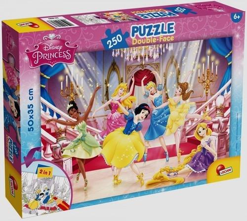 Puzzle dwustronne 250: Księżniczki (48083)
