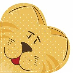 Serwetka Hearts CAT SDH040000