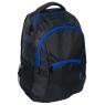 Plecak młodzieżowy czarno-granatowy