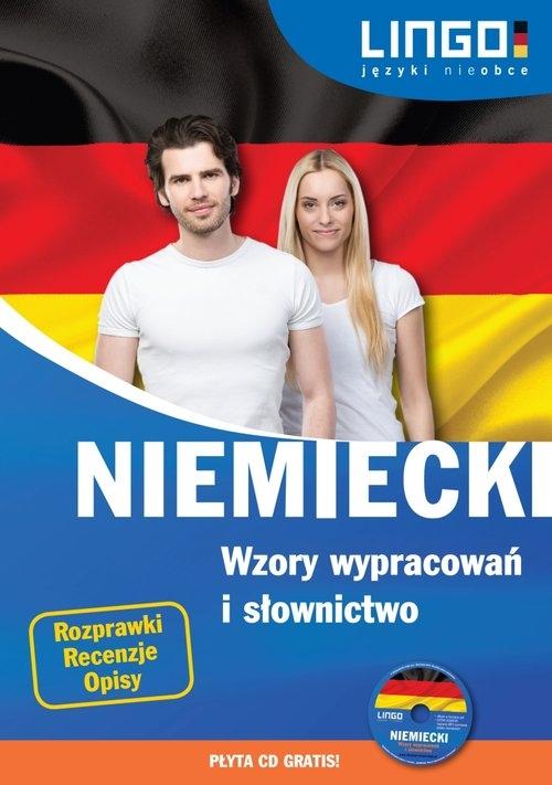 Niemiecki Wzory wypracowań i słownictwo + CD Czerwiakowska Beata