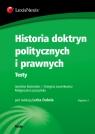 Historia doktryn politycznych i prawnych Testy Dubel Lech, Kostrubiec Jarosław, Ławnikowicz Grzegorz