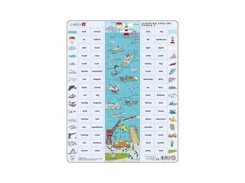 Nauka angielskiego puzzle 8