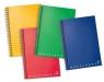 Kołobrulion A6 Pigna Monocromo w linie 82 kartki mix kolorów