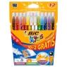 Flamastry Colour & Erase Pudełko 10+2 sztuk