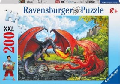 Puzzle 200 XXL Pojedynek smoków (127085) RAP127085