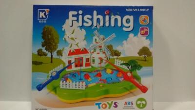 Gra łowienie rybek .