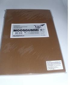 Arkusze piankowe 20x29cm 10 arkuszy kolor brązowy
