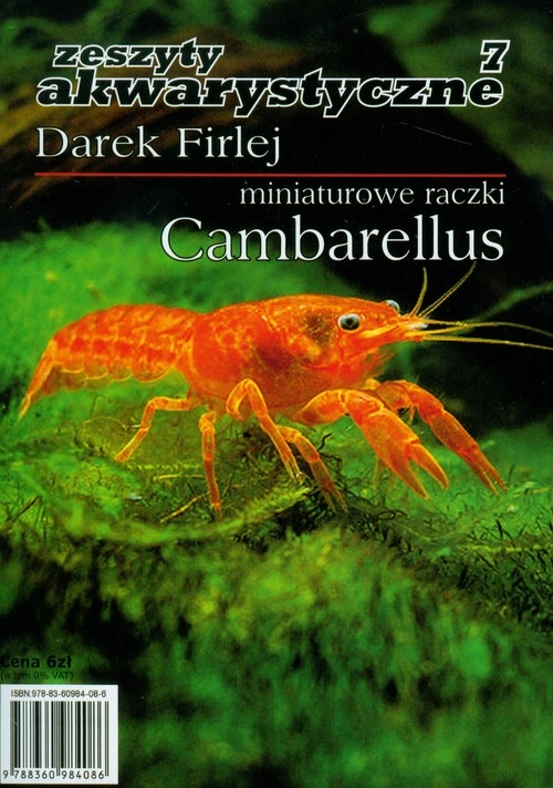 Miniaturowe raczki Cambarellus 7 Firlej Darek