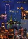 Brulion A5 Top-2000 w kratkę 192 kartki Miasta mix