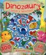 Dinozaury Scenki z naklejkami