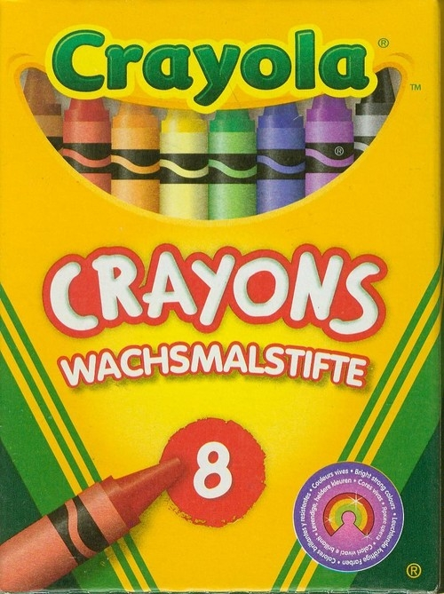 Kredki świecowe Crayola 8 sztuk (0008)