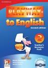 Playway to English 2 Teacher's Resource Pack + CD Holcombe Garan, Gerngross Günter, Puchta Herbert