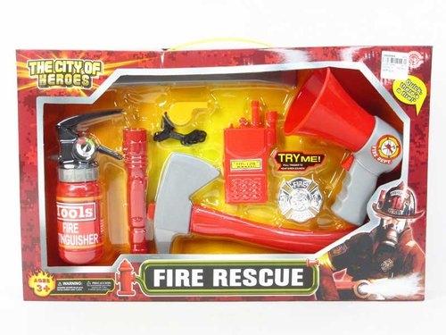 Mały strażak z głośnikiem