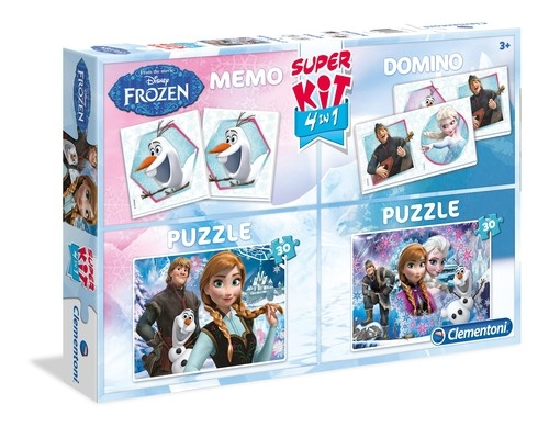 Puzzle Kraina Lodu Super kit 4 w 1 (08208)