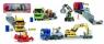 Zestaw pojazdów budowlanych 49 cm, 4 rodzaje (203414805)