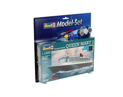 Model Revell Queen Mary 2 1:1200 zestaw z farbami