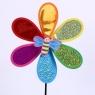 Wiatraczek kwiatek z owadami