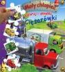 Koloruj i układaj Ciężarówki Mały chłopiec