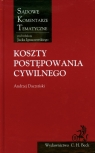 Koszty postępowania cywilnego Daczyński Andrzej
