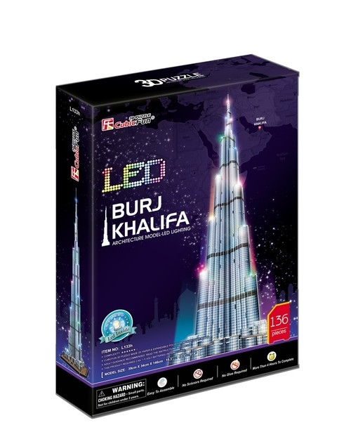 Puzzle 3D: LED - Burj Khalifa (306-20508)
