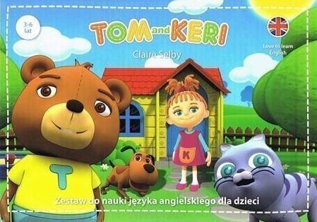 Tom&Keri. Zestaw do nauki jezyka angielskiego dla dzieci (BOX) praca zbiorowa
